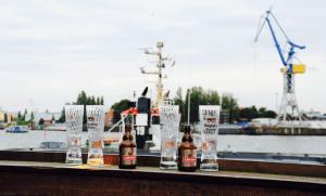 Le port de Hambourg et ses plages